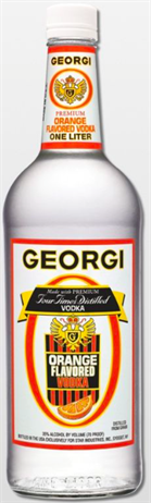 Georgi Vodka O Orange